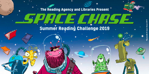 Space Chase – Summer Reading Challenge 2019